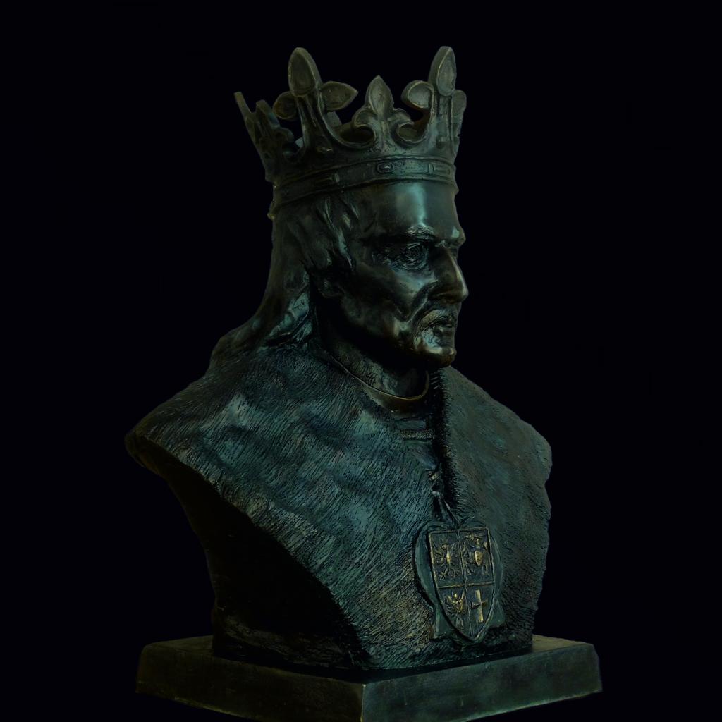 władysław jagiełło popiersie brąz