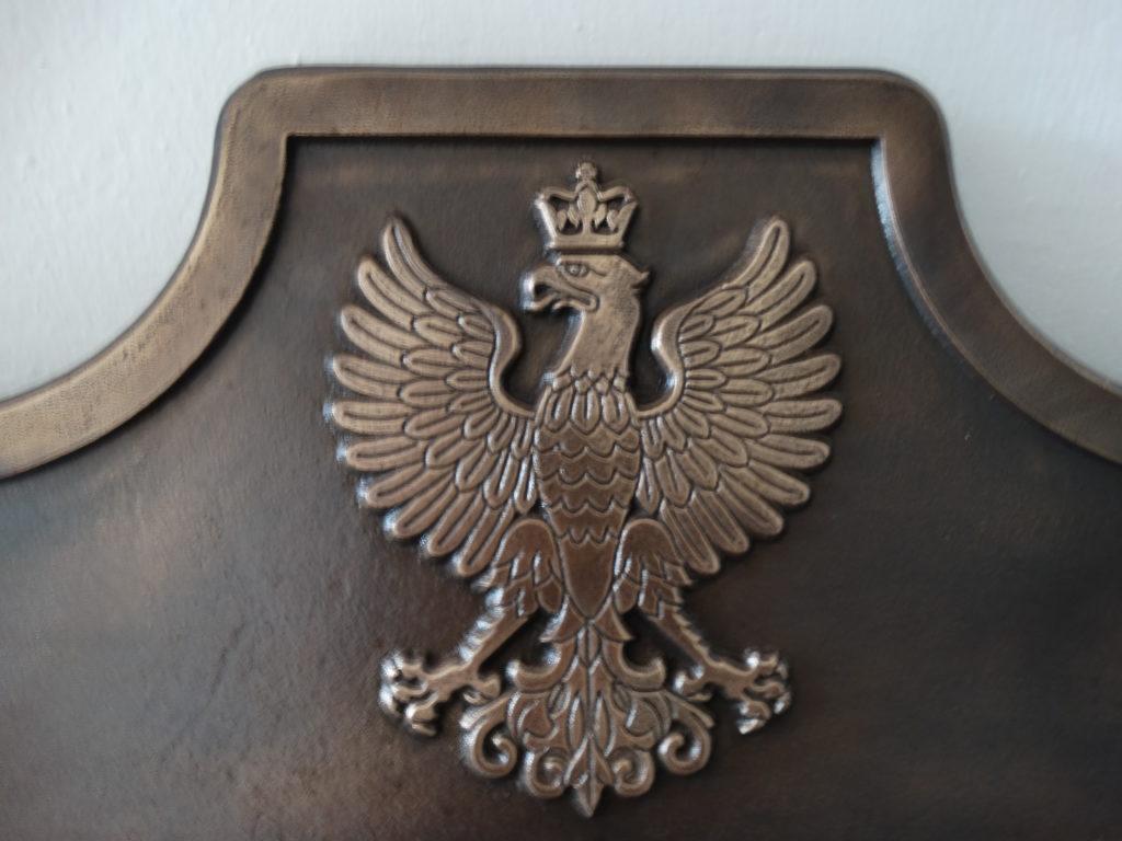 tablica pamiątkowa powstańcom wielkopolskim, tablica z brązu, odlew tablicy z brązu